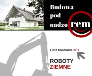 Roboty ziemne – Lista kontrolna do pobrania