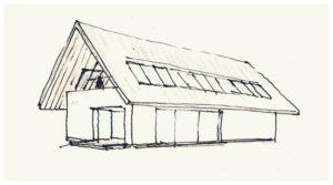Pierwsze szkice idei autorstwa arch. Roberta Koniecznego